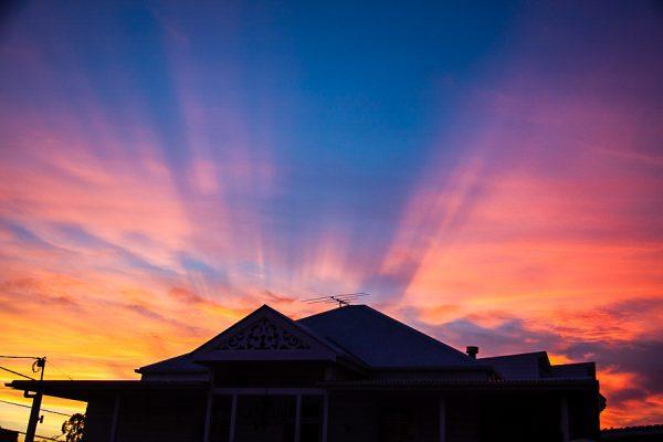 Sunset West End Brisbane